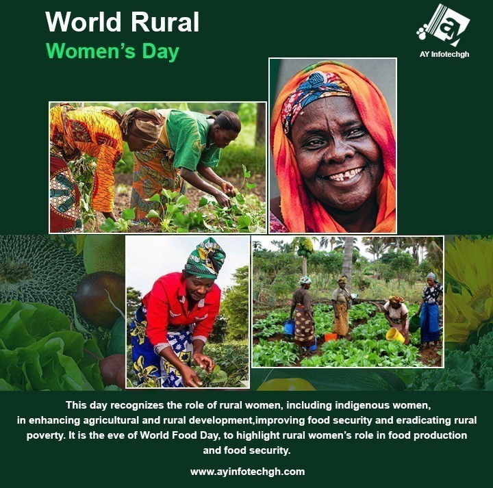 World Rural Women's Day - AY INFOTECHGH